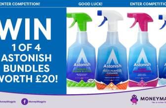 Win 1 of 4 Astonish bundles worth £20