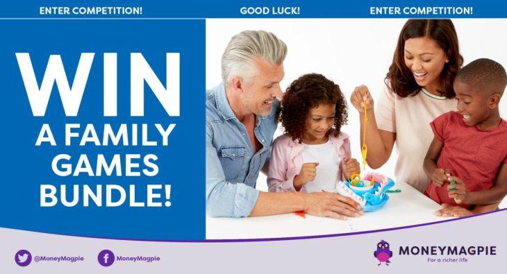 Win a family games bundle