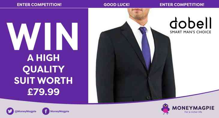 Win a high quality suit worth £79.99