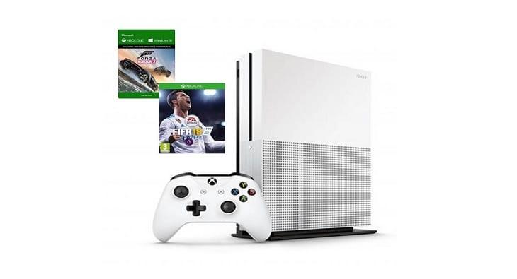 Win an X-Box One S console bundle