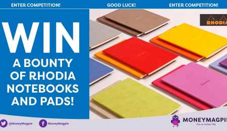 Win a bounty of Rhodia notebooks and pads
