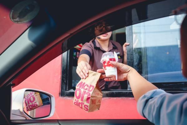 McDonalds Drive Through