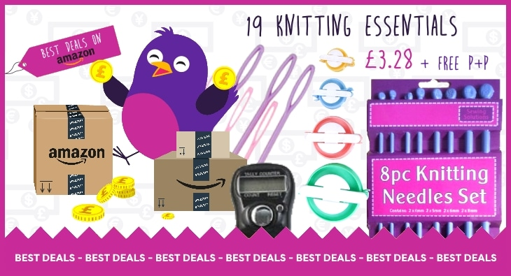 19 Knitting Essentials for less than £4
