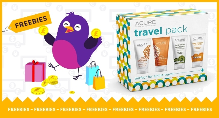 Free Acure Skin Care Travel Set