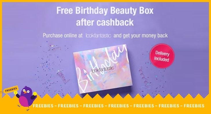 FREE Look Fantastic Beauty Box after cashback at Look Fantastic