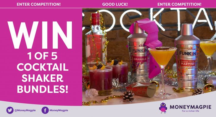 Win 1 of 5 Cocktail Shaker Bundles