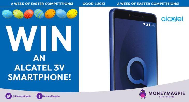 Day 1 - Win an Alcatel 3V Smartphone