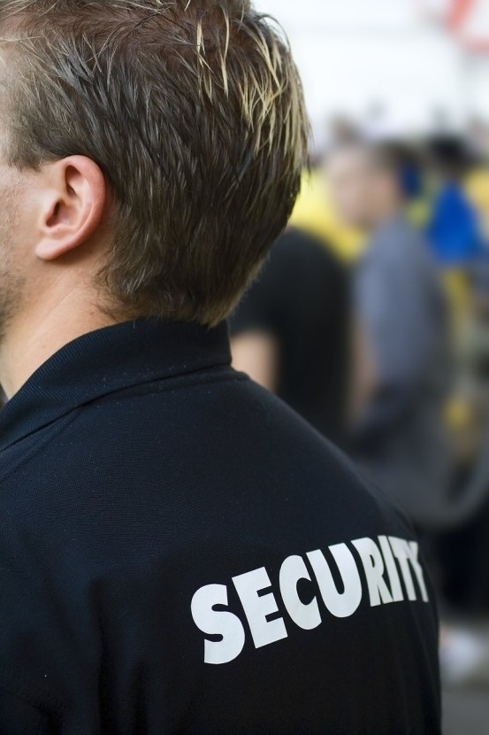 MoneyMagpie_Security guard coat