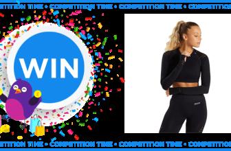 Win a SNAXCHD Black 2 Piece Seamless Gym Set