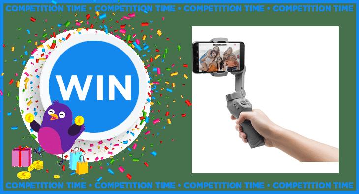 Win a DJI Osmo Mobile 3 Gimbal