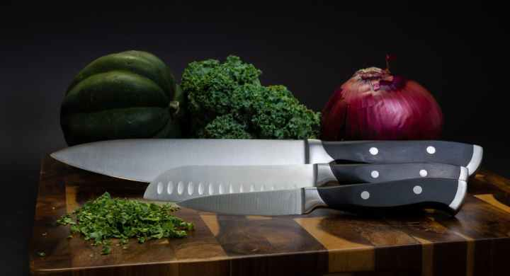You need to invest in knives to become a chef