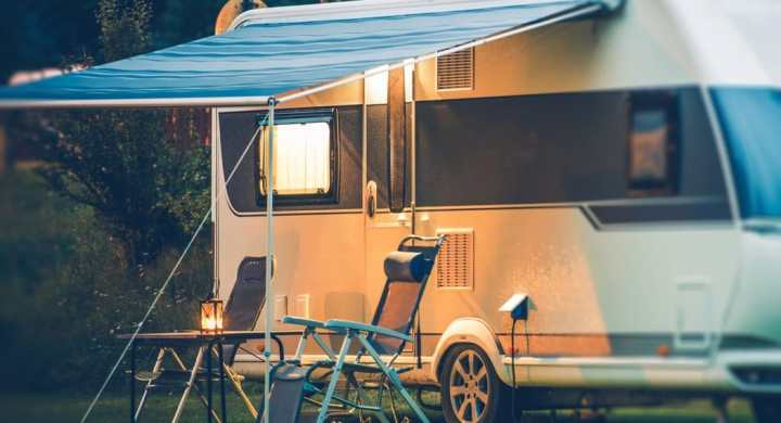 Caravanning is a great cheap vacation
