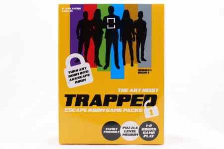 TRAPPED Escape Room Game