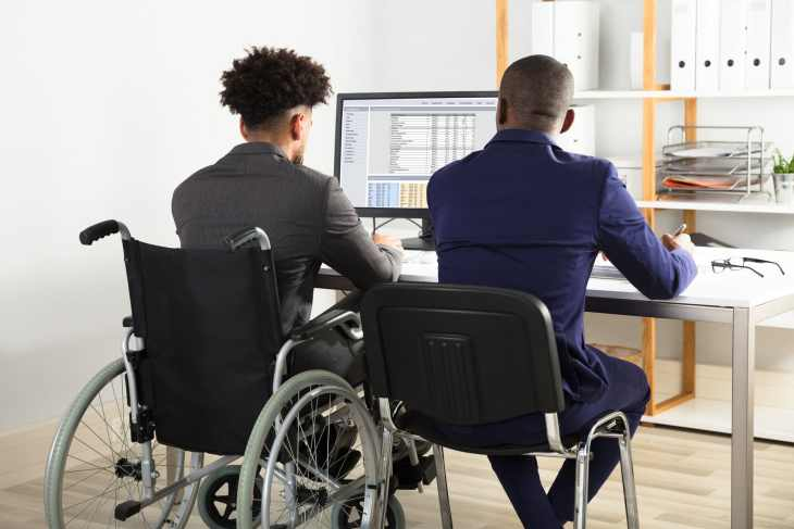 Access to Work helps disabled people with specialist equipment and services