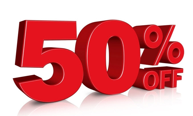 50 Percent Forex discount on ALL Expert4x products.