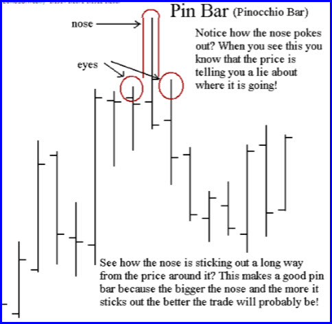Anatomy of a Pin Bar