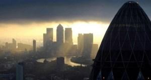 dark financial clouds