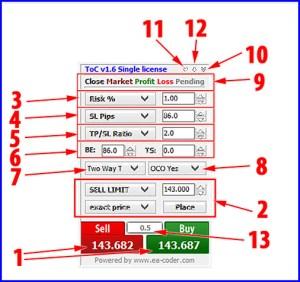 1 click trading