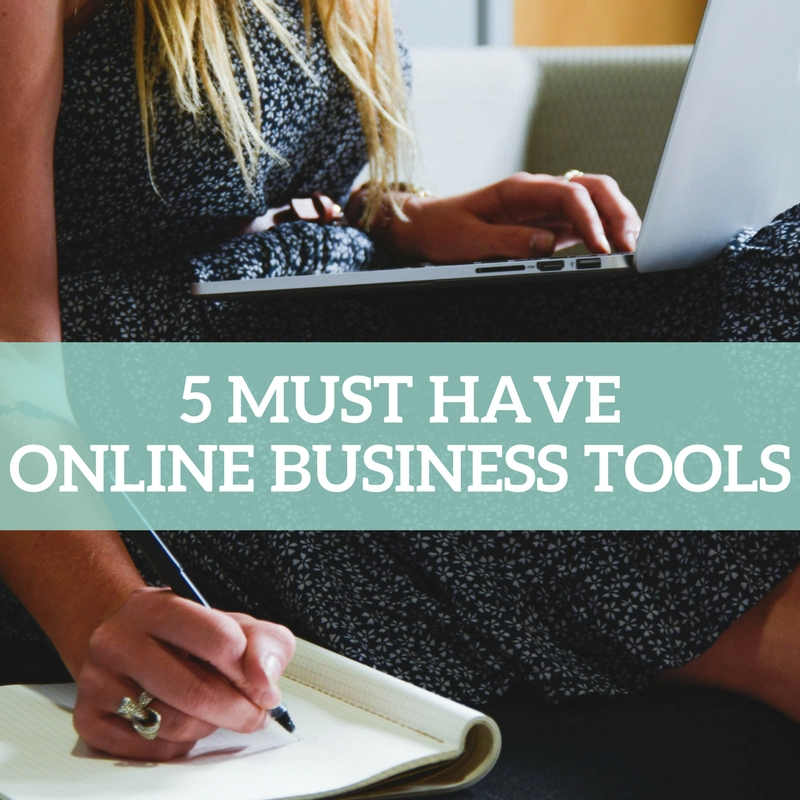 5 must have online business tools