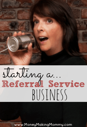 Starting a Referral Service Business