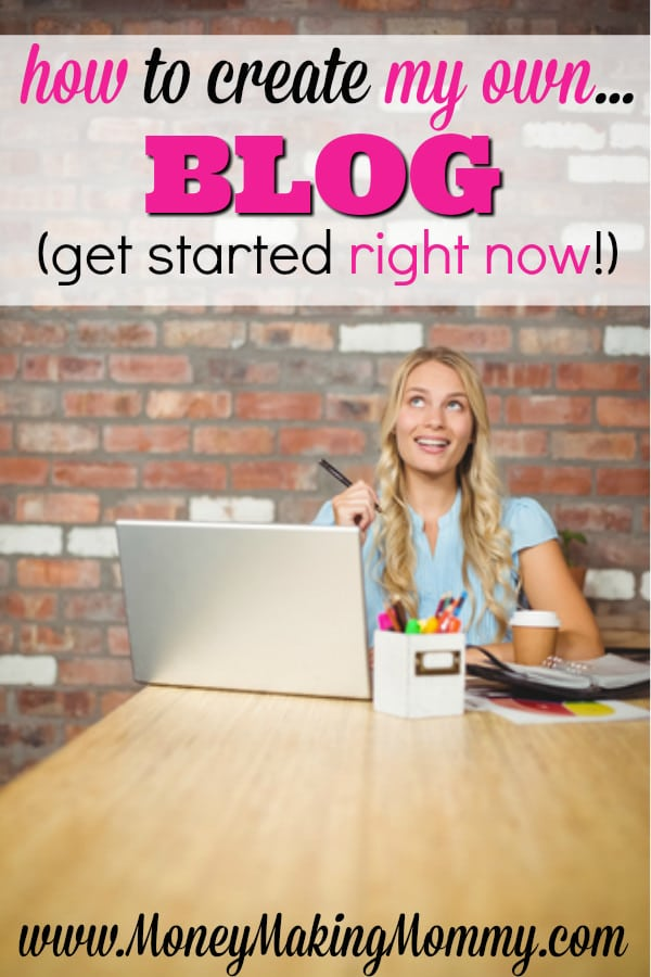 start my own blog