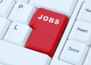 Online career hunting.