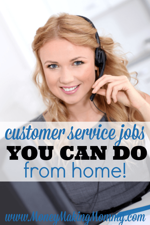 Customer Service Jobs You Can Do From Home