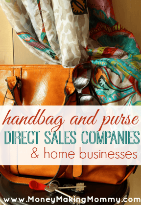 List of Handbag and Purse Direct Sales Companies