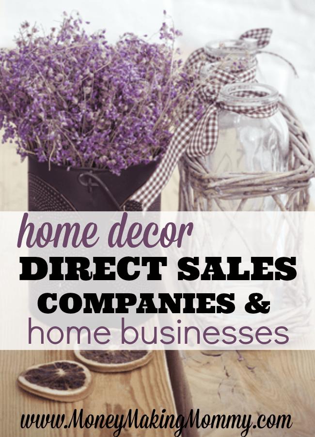 Home Decor Direct Sales Companies