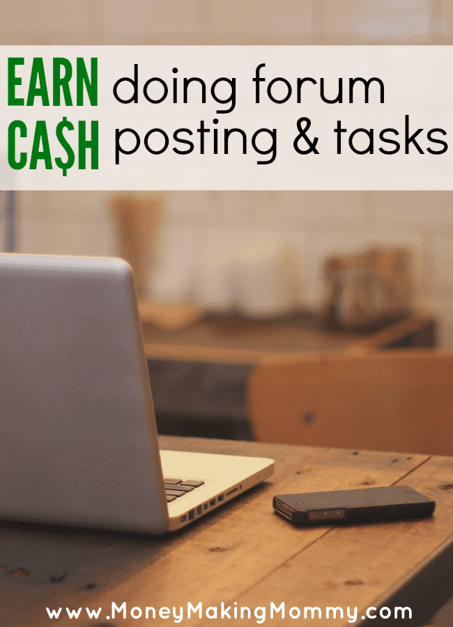 Make Money Posting in Forums
