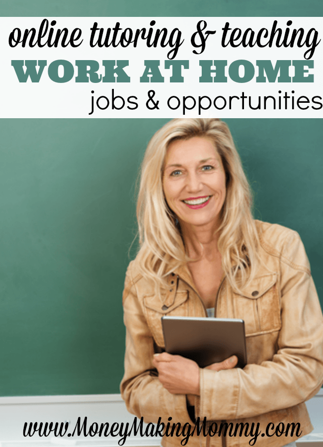 Online Tutoring and Teaching Jobs