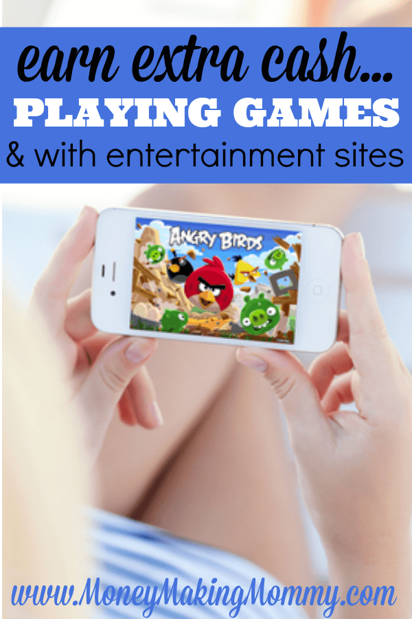 Play Games and Earn Cash
