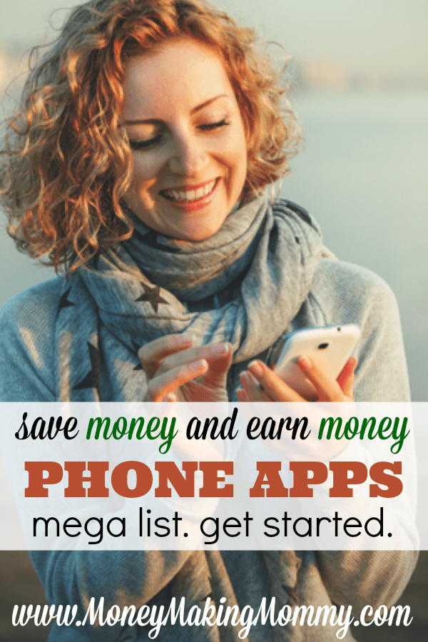 Save Money and Earn Money with Phone Apps