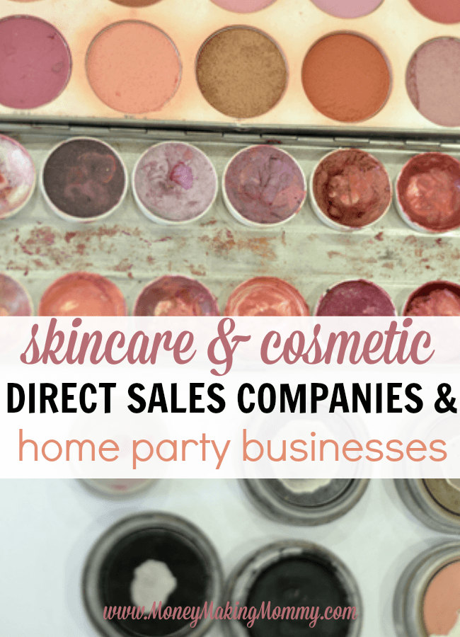 List of Skincare and Cosmetic Direct Sales Companies