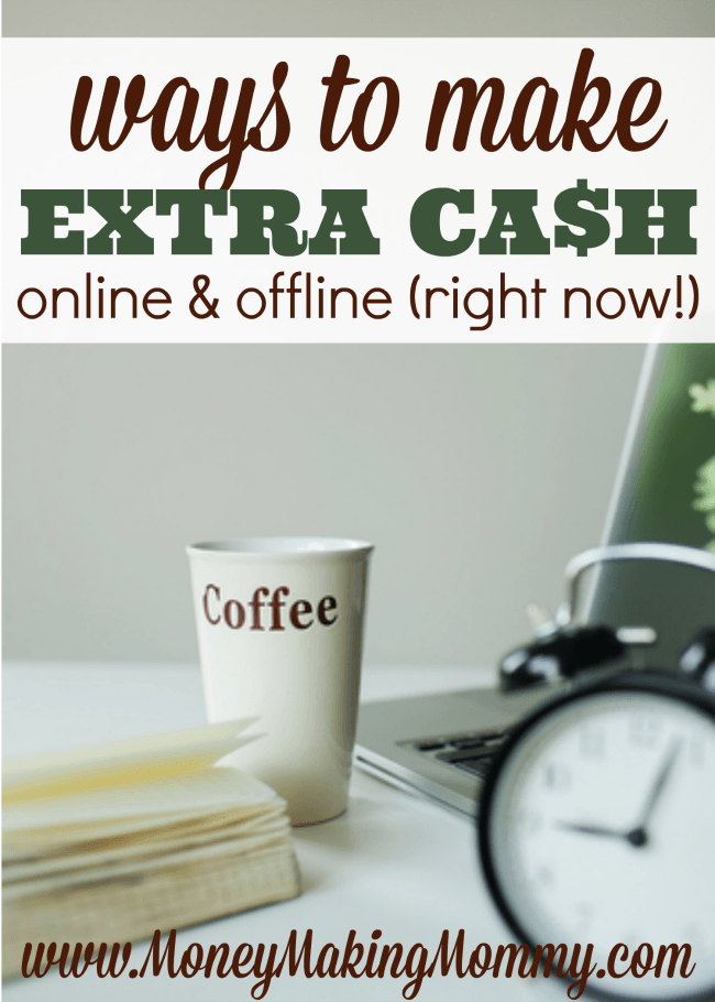Ways to Make Extra Cash Online and Offline Right Now