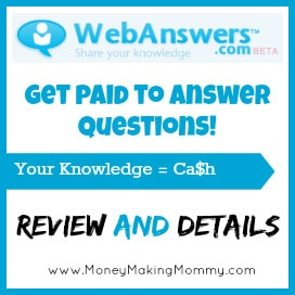 Answer Questions for Money