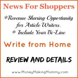 writing article for money