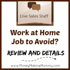 live sales staff jobs