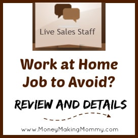 live sales staff jobs