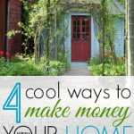 4 Ways to Turn Your House into a Money Making Machine