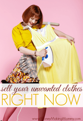 Sell Your Clothes Right Now!