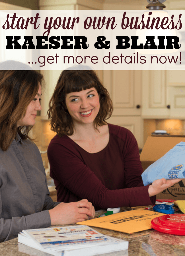 Kaeser and Blair Promotional Product Home Business