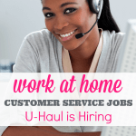 U-Haul Offers Work at Home Jobs (Full time and Part time)