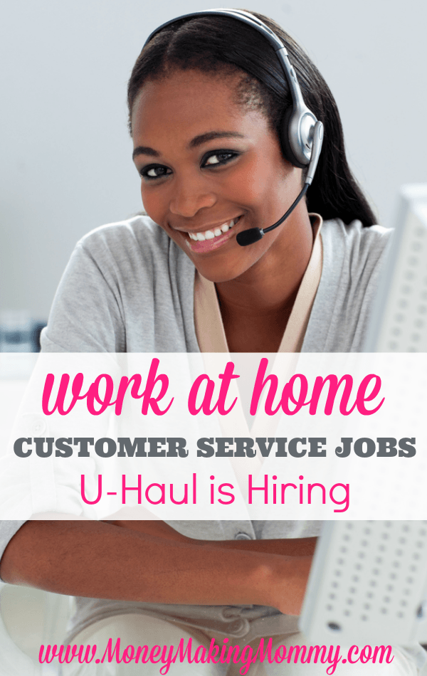 U-Haul Work at Home Jobs - Both Full time and Part time