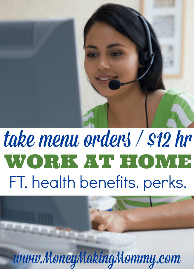 OrderUp Work at Home Jobs