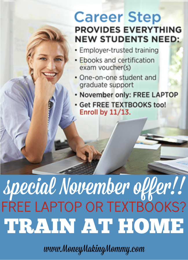 CareerStep Free Laptop Offer