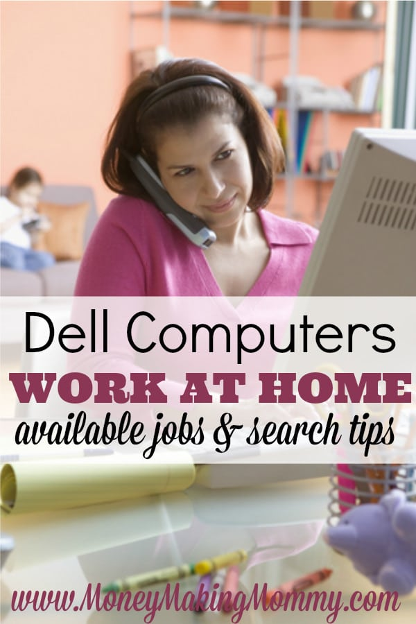 Finding Work at Home at Dell Computers