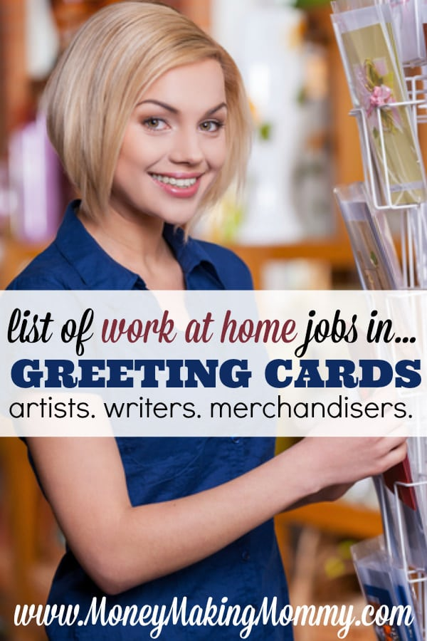 Greeting card jobs from home writing illustration more have you considered looking into greeting card companies for work at home positions whether its m4hsunfo