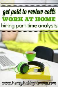 Earn a Paycheck Reviewing Calls at Home