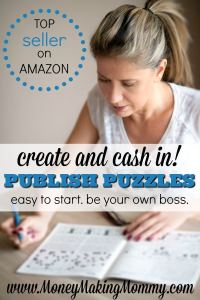 Create Puzzle Books for Cash